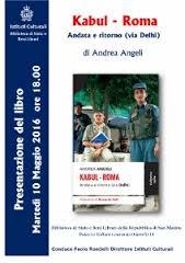 Kabul-Roma e ritorno via Dehli (Rubettino Editore)