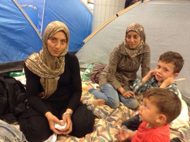 Il campo profughi