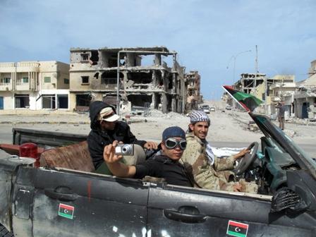 Il centro di Sirte